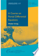 A Course on Partial Differential Equations