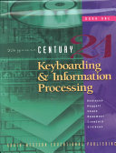 Keyboarding and Information Processing