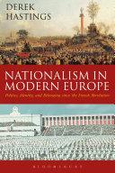 Pdf Nationalism in Modern Europe