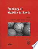 Anthology Of Statistics In Sports Book PDF