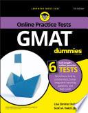 """""""GMAT For Dummies"""" by Lisa Zimmer Hatch, Scott A. Hatch"""