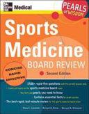 Sports Medicine Board Review Book PDF
