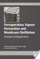 Pervaporation  Vapour Permeation and Membrane Distillation Book
