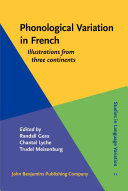 Pdf Phonological Variation in French Telecharger