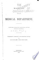 Manual for the Medical Department  United States Army