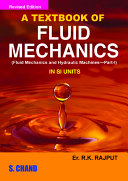 A Textbook Of Fluid Mechanics