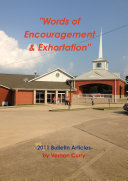 Words of Encouragement   Exhortation   2011