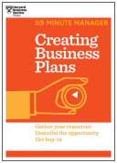 Creating Business Plans  HBR 20 Minute Manager Series