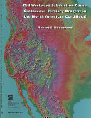 Did Westward Subduction Cause Cretaceous-Tertiary Orogeny in the North American Cordillera?