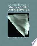 An Introduction to Modern Stellar Astrophysics