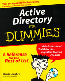 Cover of Active Directory For Dummies