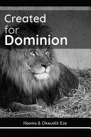 Created for Dominion [Pdf/ePub] eBook