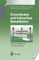 Groundwater And Subsurface Remediation Book PDF