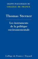 Pdf Les instruments de la politique environnementale Telecharger
