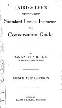 Laird & Lee's Vest Pocket Standard French Instructor and Conversation Guide