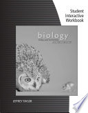Student Interactive Workbook for Starr/Evers/Starr's Biology Today and Tomorrow with Physiology, 4th