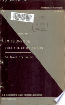 Atmospheric Emissions from Fuel Oil Combustion