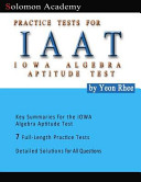 Solomon Academy's Iaat Practice Tests