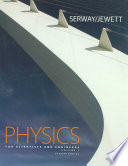 Physics for Scientists and Engineers, Volume 1, Chapters 1-22 (with TCengageNOW 2-Semester, Personal Tutor Printed Access Card)