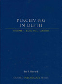 Perceiving In Depth Stereoscopic Vision