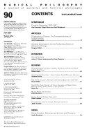 Radical Philosophy ebook