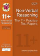 11+ Non-Verbal Reasoning Practice Test Papers: Multiple Choice - Pack 2