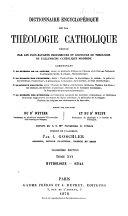 Dictionnaire encyclopédique de la thélogie catholique
