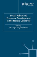 Social Policy and Economic Development in the Nordic Countries