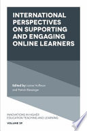 International Perspectives on Supporting and Engaging Online Learners
