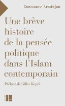 Pdf Une brève histoire de la pensée politique dans l'Islam contemporain Telecharger