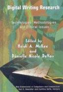 Digital Writing Research Book