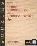 Notable Selections in Crime  Criminology  and Criminal Justice Book