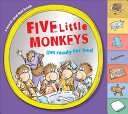 Five Little Monkeys Get Ready for Bed  touch And feel Tabbed Board Book  Book PDF