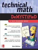 Technical Math Demystified [Pdf/ePub] eBook