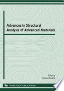 Advances in Structural Analysis of Advanced Materials