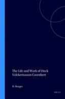 Pdf The Life and Work of Dirck Volkertszoon Coornhert Telecharger