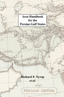 Area Handbook for the Persian Gulf States ebook