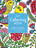 Posh Adult Coloring Book Happy Doodles For Fun And Relaxation