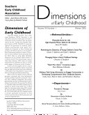 Dimensions of Early Childhood Book PDF