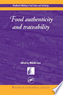 """Food Authenticity and Traceability"" by M Lees"