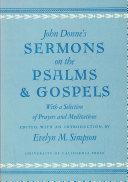 John Donne s Sermons on the Psalms and Gospels