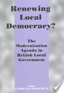Renewing Local Democracy