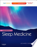 Fundamentals Of Sleep Medicine E Book