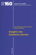 Insights Into Academic Genres