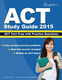 ACT Study Guide 2015