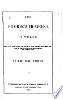 The Pilgrim S Progress In Verse Book PDF