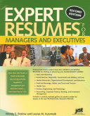 Expert Résumés for Managers and Executives