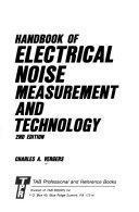 Handbook of Electrical Noise