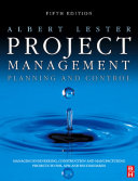 Project Management, Planning and Control Pdf/ePub eBook