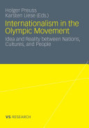 Internationalism in the Olympic Movement